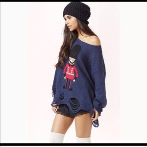 Wildfox • Lennon Solider Boy Sweater